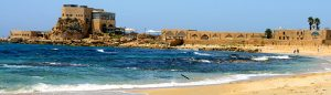 Caesarea on holy land tour