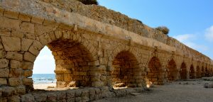 Roman Aqueducts on holy land tours