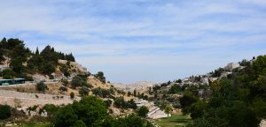Valley of Gehenna on holy land tour