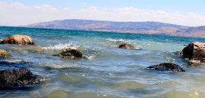Sea of Galilee on holy land tour