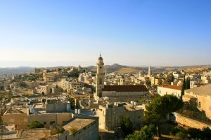 Bethlehem taken on Israel Bible Tours