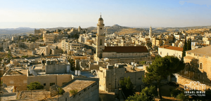 Bethlehem on tour of holy land