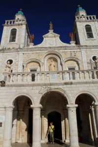 Church of cana on Israel Bible Tours