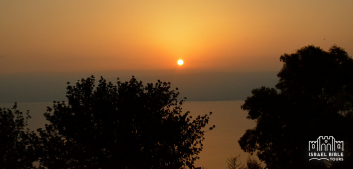 Galilee Sunrise, Israel Bible Tours photo