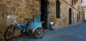 Jaffa bicycle Israel Bible Tours