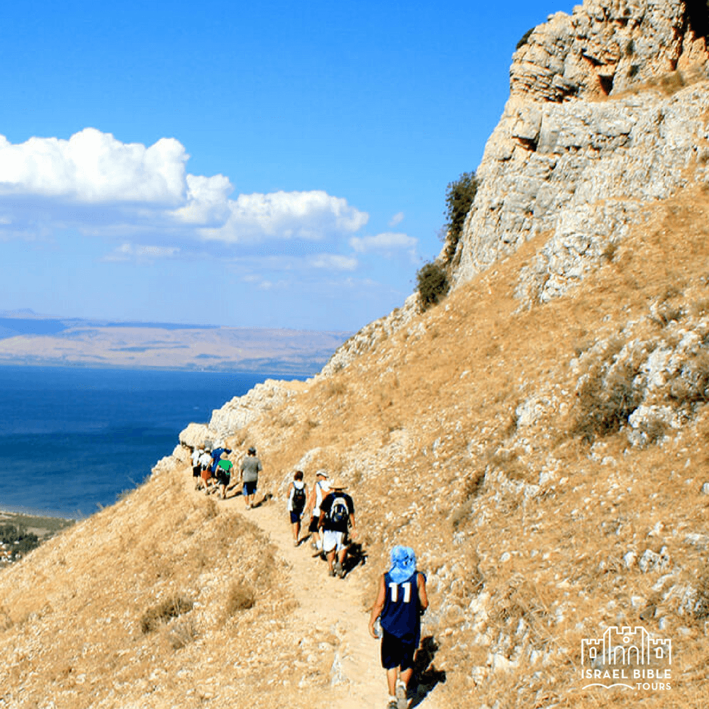 Sea of Galilee Mt Arbel, Israel Bible Tours photo